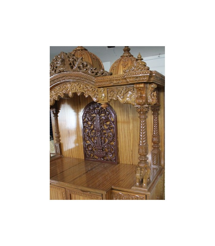Iskcon Altar Buy Wooden Iskcon Altar Online At Low