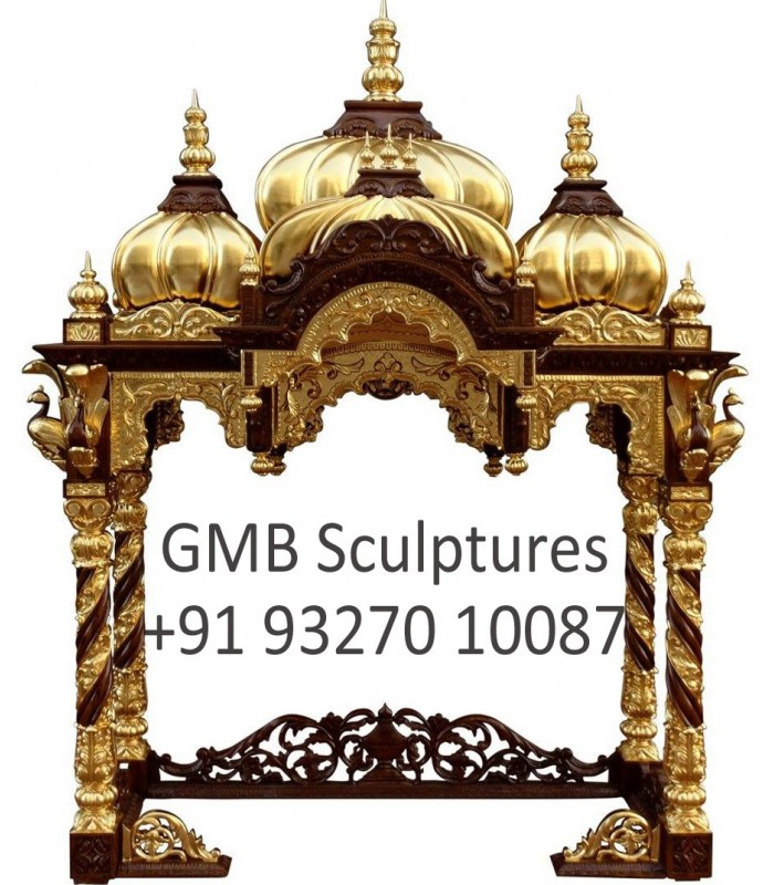 Home Altars For Sale: Wooden Temple For ISKCON Deities