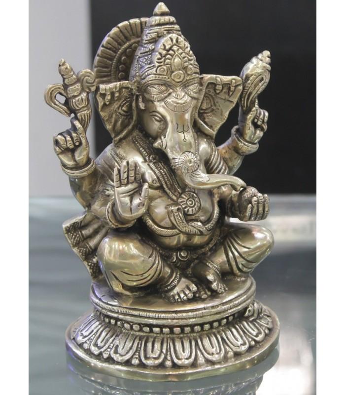 Buy Metal Brass Ganesh Ganesha Idol Ganpati Murti