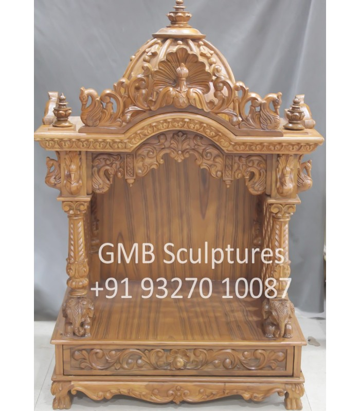 Small Wooden Temple For Pooja At Home Buy Small Wooden