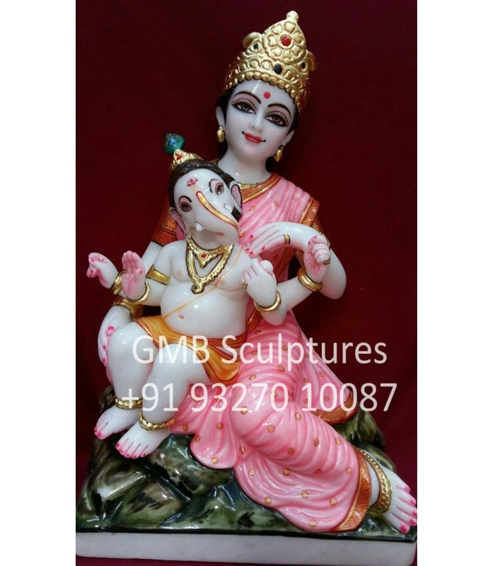 Buy Swadhyay Parivar Parvati Statue Murti Online Gmb
