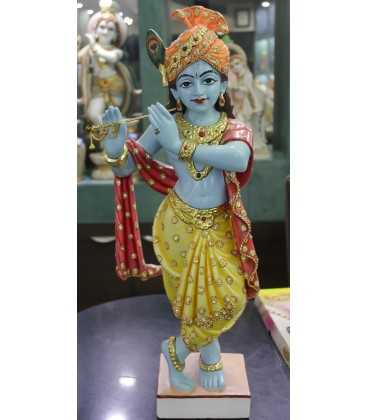 Buy Lord Krishna In Blue Shade India Usa Uk Australia