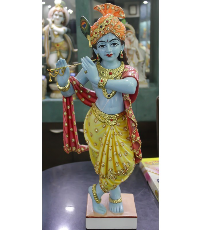 Buy Lord Krishna In Blue Shade India Usa Uk Australia