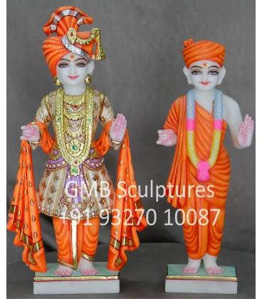 Marble Murti of Swami Narayan