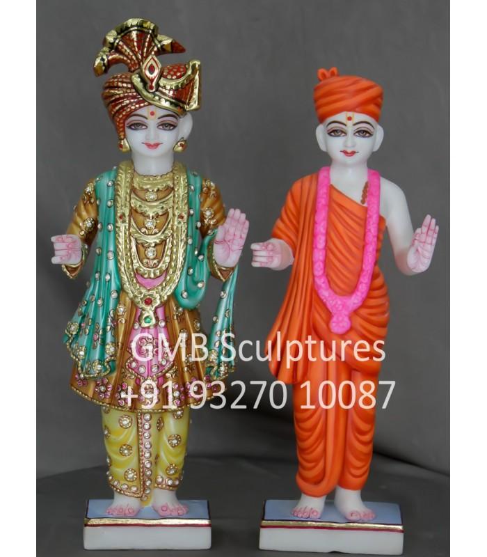 Marble Murti Of Swami Narayan Pair Buy Marble Swami