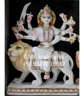 Marble murti of Ambaji