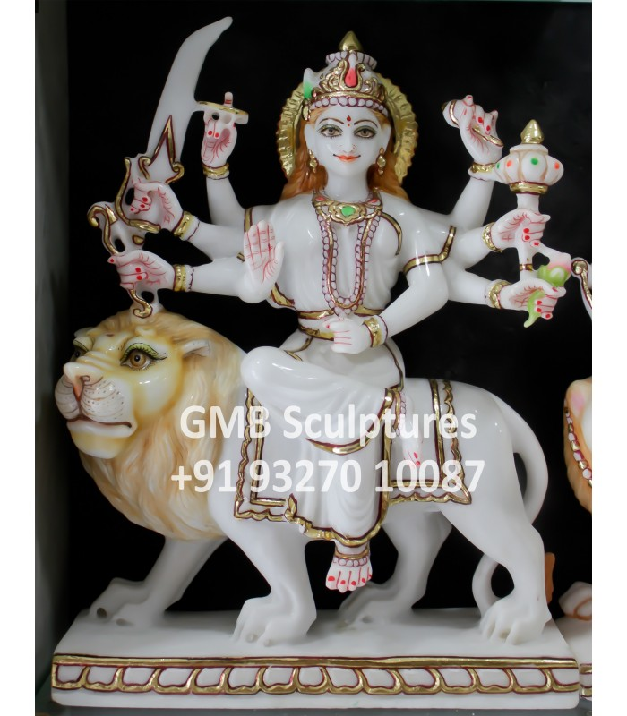 Buy Marble Murti Of Ambaji Online India Usa Uk