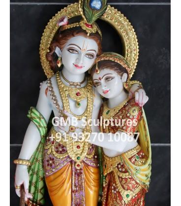 Unique Radha Krishna Statue