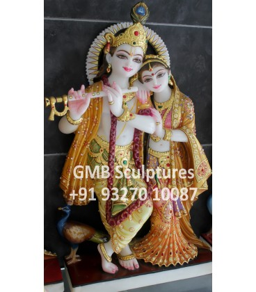 Exclusive Radha Krishna Statue