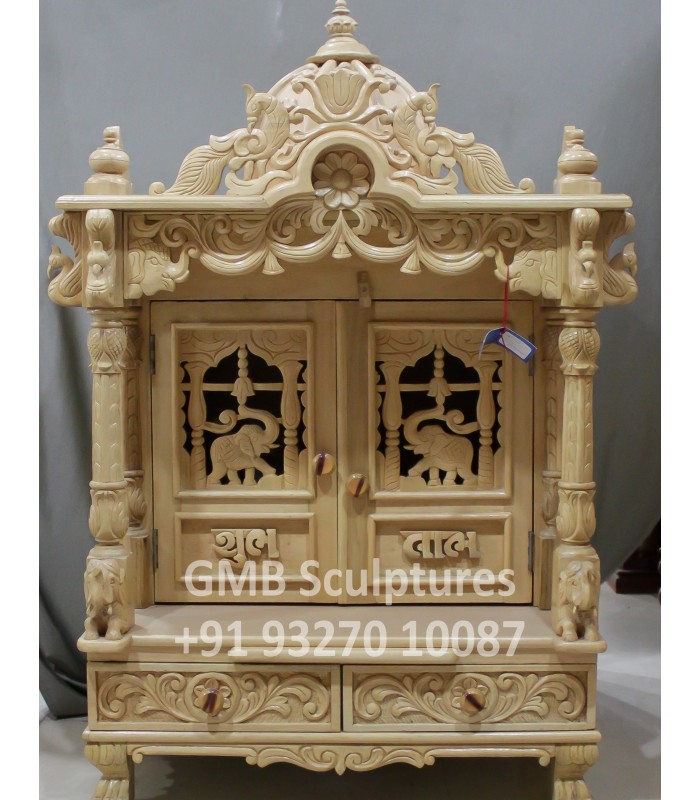 Buy Home Temple With Doors Online From India To Usa Uk