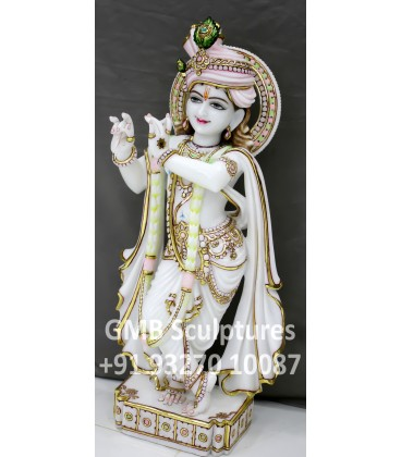 Krishna Idol with Turban