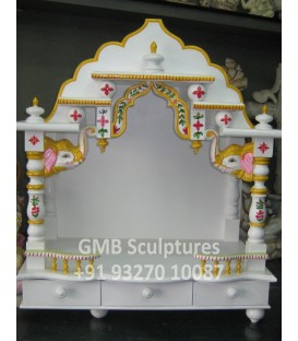 Marble Design Temple in Wood