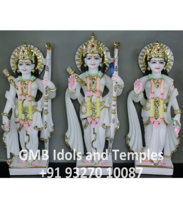 Idols of Ram, Laksham and Janki