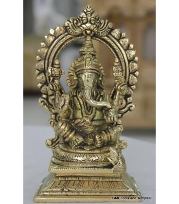 Idol of Ganesha from Brass