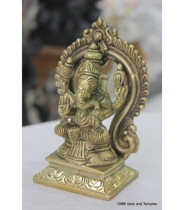 Brass Ganesh Murti