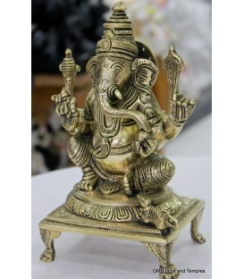 Beautiful Ganesha from Brass