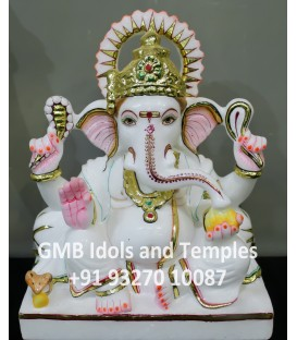 Indian Hindu God Ganpati Moorti