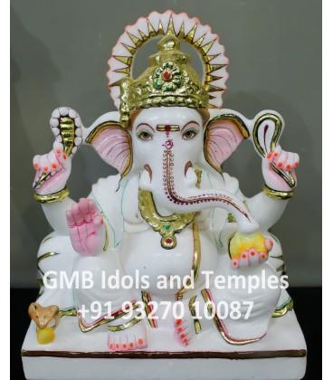 Indian Hindu God Ganpati Moorti