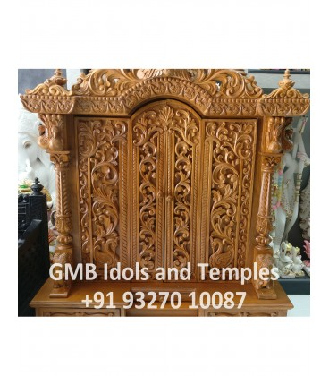 Solid Wood Temple