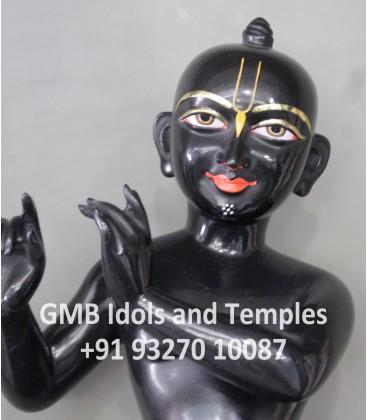 Black Krishna Statue