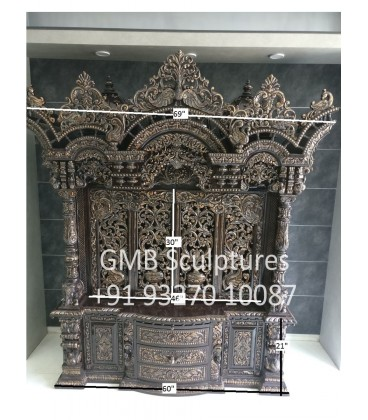 Exclusive Wood Temple with Doors