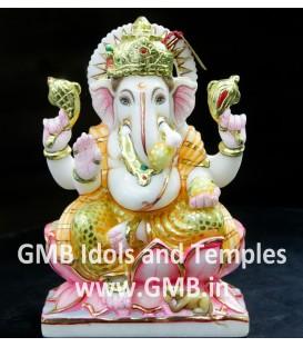 Marble Ganapati Murti