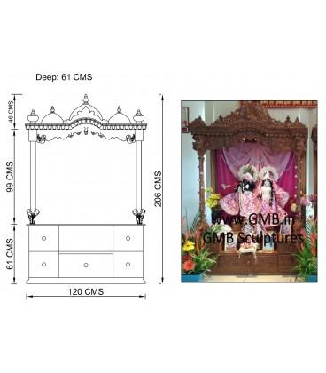 Custom Made ISKCON Altar