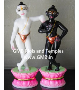 Krishna Balram Deities from Marble