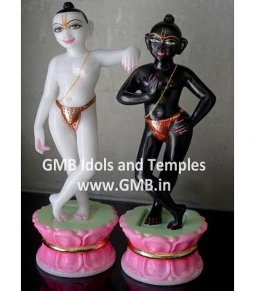 Marble Krishna Balram Deities