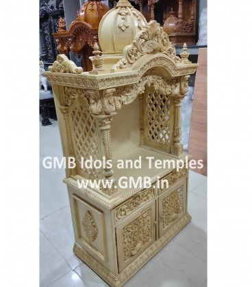 Temple with Cabinet