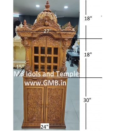 Small Temple with High Cabinet