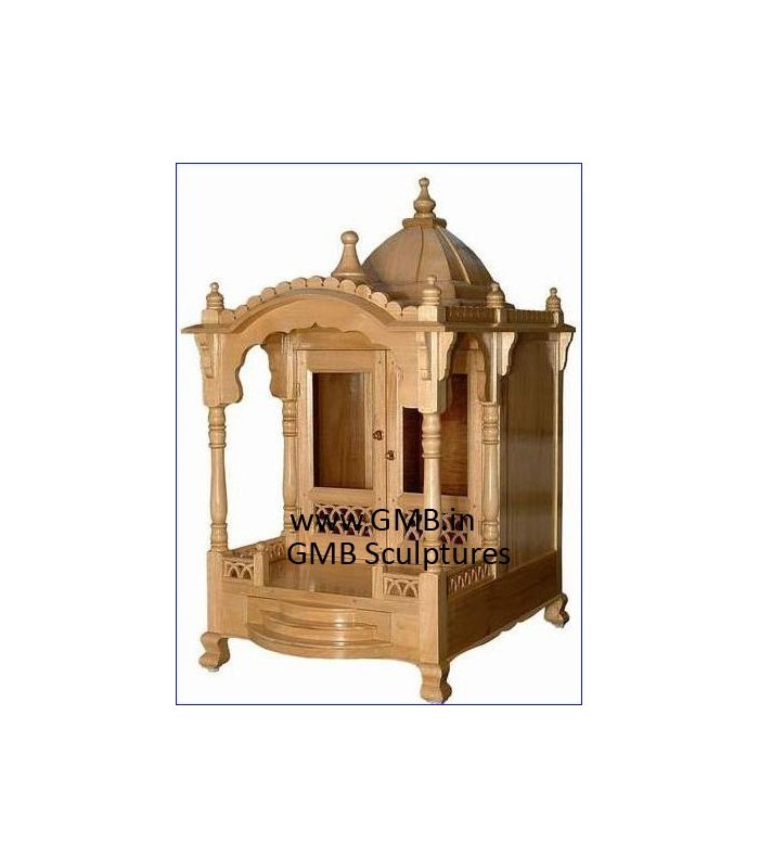 b6d085a76 Buy Wooden Temple for Home online