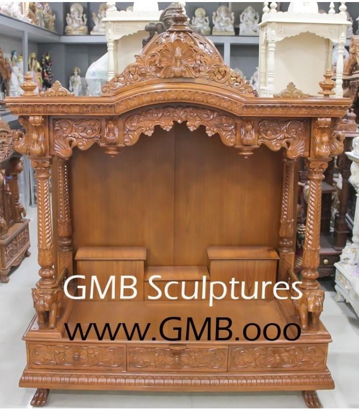 Buy Wooden Carved Mandir India Usa Uk Australia
