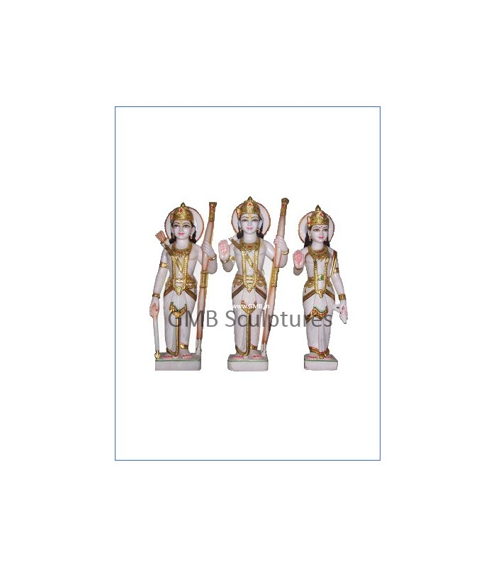 Buy Exquisite Marble Statue Of Ram Darbar From Marble