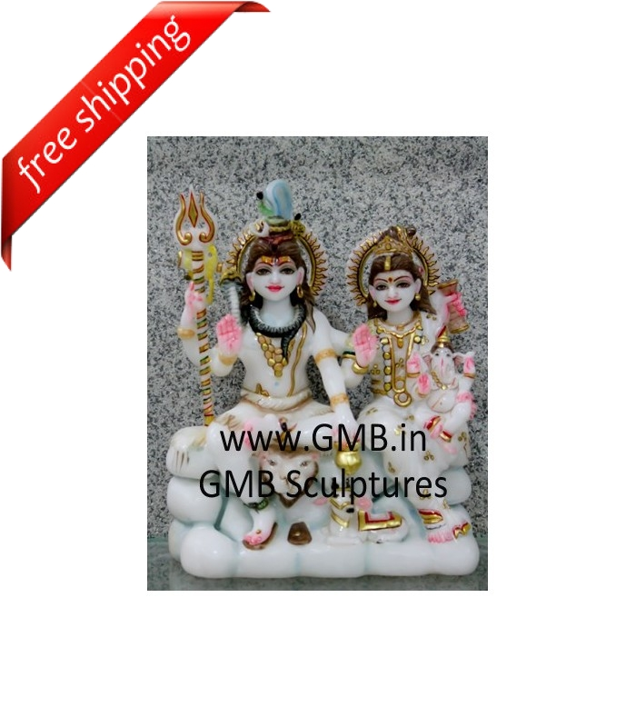 Beautiful Marble Murti Of Shiva And Parvati Buy Beautiful