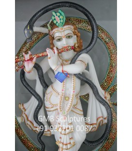 Lord Krishna with Aum