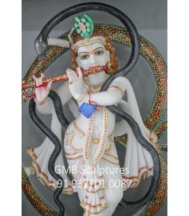 Lord Krishna with Aum
