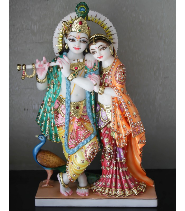 online radha krishna for home idols buy radha krishna for home