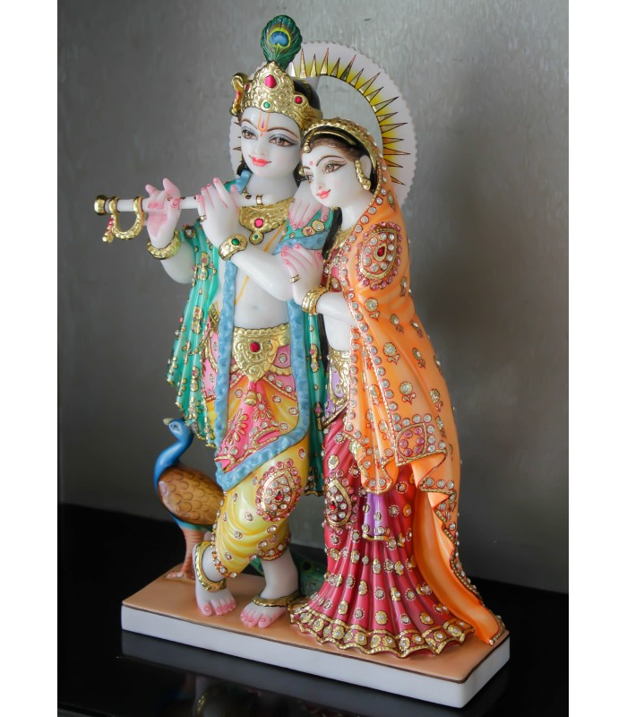 c62dc0a0e57 Online Radha Krishna for Home Idols - Buy Radha Krishna for Home ...